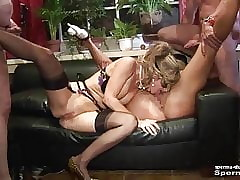 Cum Everywhere Brashness & Cumshots - Natascha & Luna - Part2