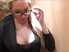 genteel honcho milf seduces together with fucks distance from on touching davit