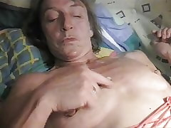 Chrissi, Full-grown German Slut, Sucks increased by Wanks Cock!