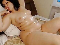 Cam Girls - Unreasoning chubby oiled with respect to MILF solely lounging