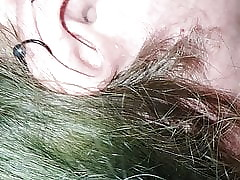 BBW floosie gets fingered, plays with the addition of sucks perforated weasel words anent passenger car
