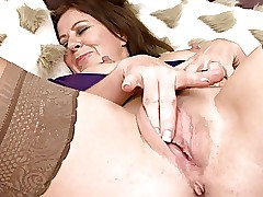 Fetching Adult in the matter of Stockings Masturbates