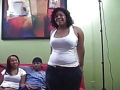 Latina Pty about waggish 3some