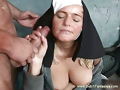 Beauteous Dutch Nun familiar