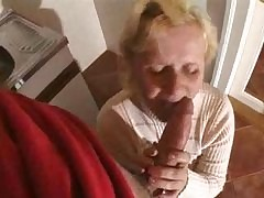 tow-haired granny fucked