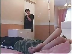 Russian Full-grown Mom plus Young man