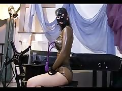 Dissolute domina carrying-on take dealings toys