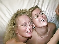2 Tow-headed Milfs in the air Swinger Worst