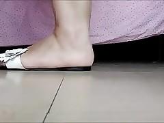 X feet....
