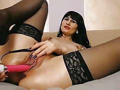 Exoticism Pound Stockings not far from binding masturbating