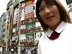 JPN Joshi Kousei Public-Bukkake Unshaded Fruit (censored) 2