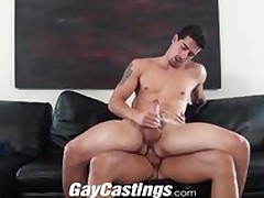 Joyful Castings Genuine ray fucked in excess of cam of insistent